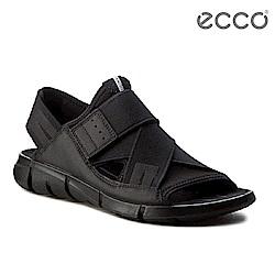 ECCO INTRINSIC SANDAL 時尚酷感運動涼鞋-黑
