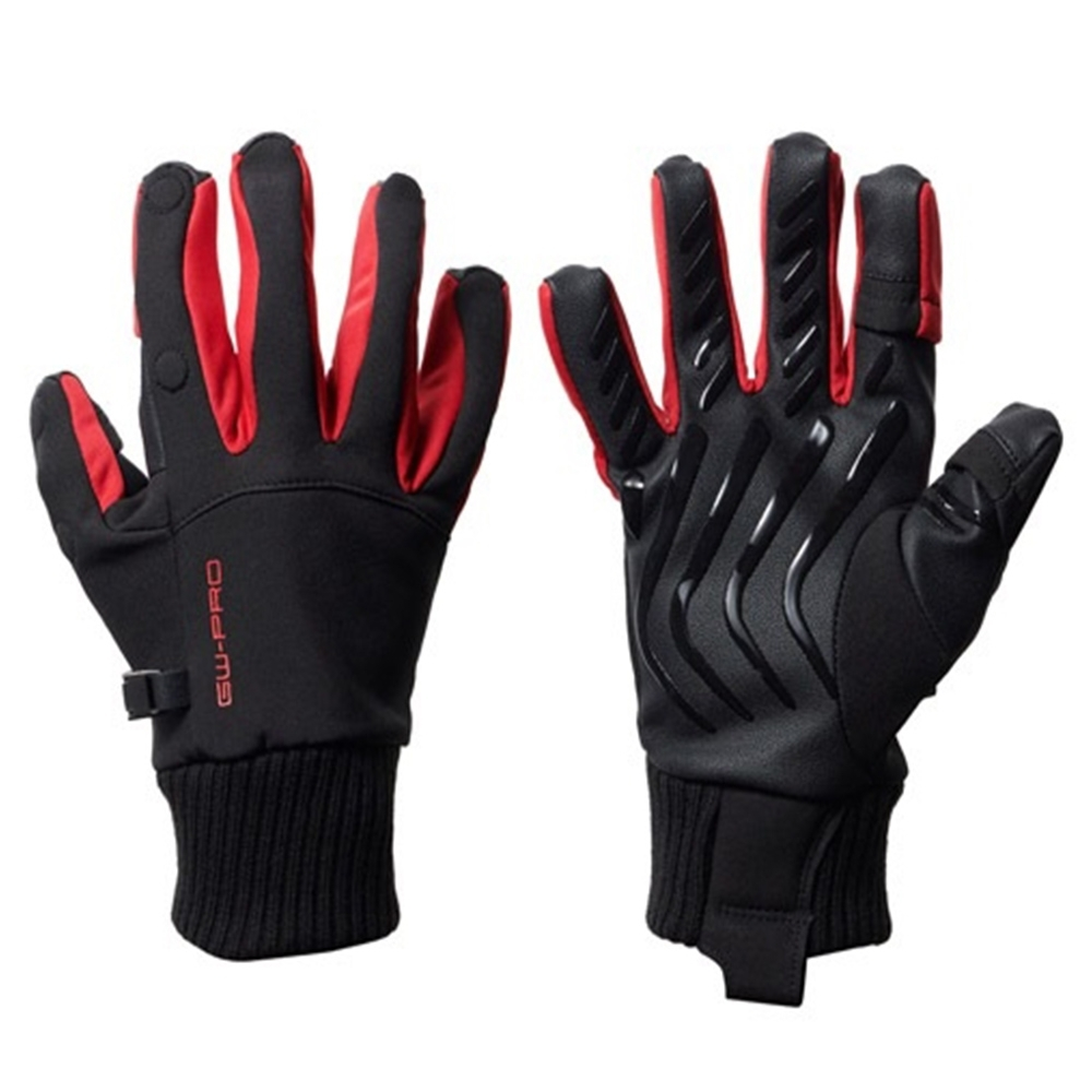 HAKUBA GW-PRO PHOTO GLOVE RED 防寒手套(M) product image 1