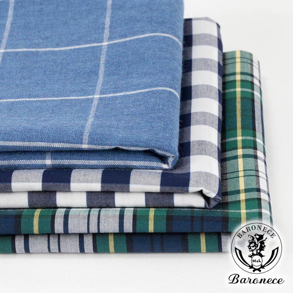 BARONECE 100%棉質口袋手帕(617606-02)