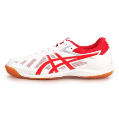 ASICS ATTACK HYPERBEAT SP 3 男女桌球鞋 白紅