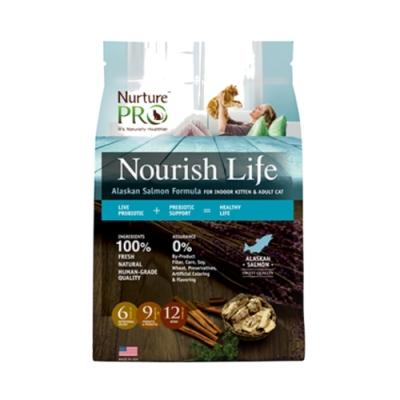 Nurture PRO 天然密碼-阿拉斯加鮭魚/室內幼貓&成貓 4lb/1.8kg (NP-271018)