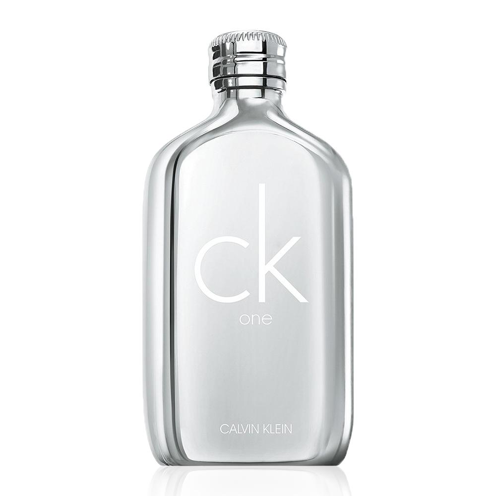 *Calvin Klein CK One 白金限量版中性淡香水 tester 100ml