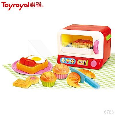 日本《樂雅 Toyroyal》生活小達人-超擬真烤麵包機 (週歲 年節禮物首選)