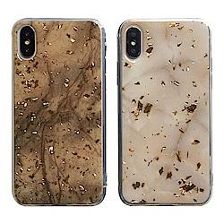 【TOYSELECT】iPhone 7/8 Plus 金箔大理石質感手機殼
