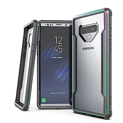 DEFENSE 刀鋒極盾II Samsung Note9 耐撞擊防摔手機殼(繽紛虹)