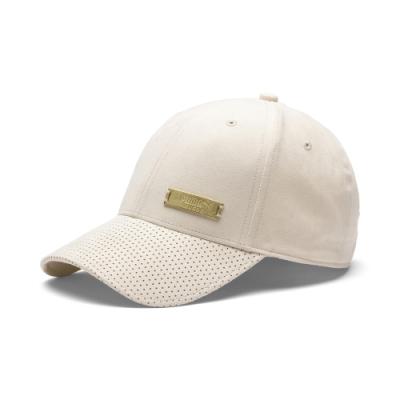 PUMA-男女流行系列SUEDE棒球帽-木薯色