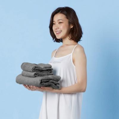 Yvonne Collection 長毛巾+大浴巾- 灰