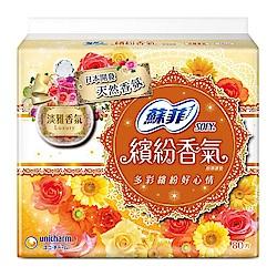 蘇菲 繽紛香氣淡雅香氛超薄護墊(14CM)(80片/包)