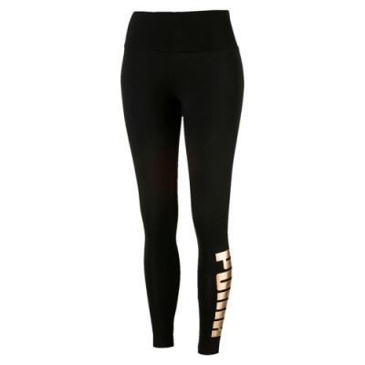 PUMA-女性基本系列Holiday緊身褲-黑色-歐規