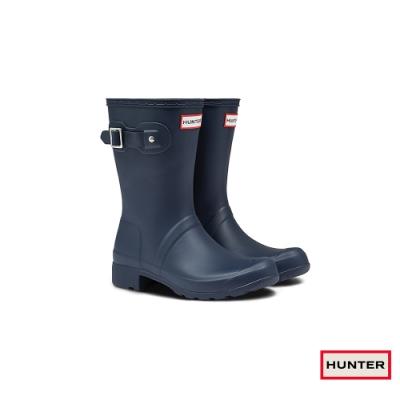HUNTER - 女鞋 - Original Tour短靴 - 藍