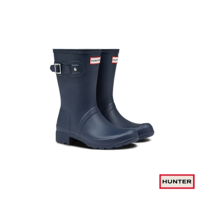 HUNTER - 女鞋 - TOUR短靴 - 藍