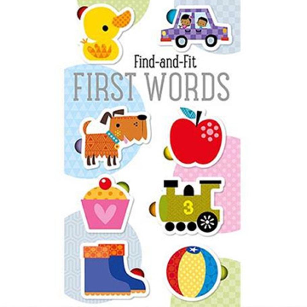 Find And Fit:First Words 拼拼圖學單字(美國版)
