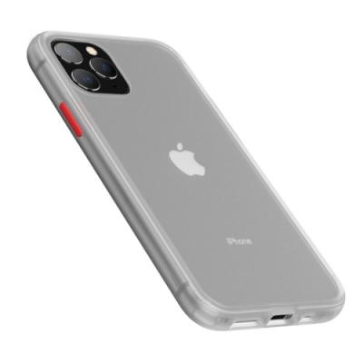 【TOYSELECT】iPhone 11 Pro Max火星盾減震矽膠防摔手機殼:透明磨砂