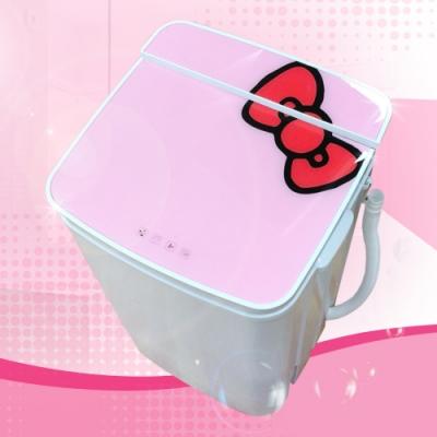 EDISON愛迪生 5.8公斤 三合一單槽洗衣/脫水/洗鞋機/粉紅