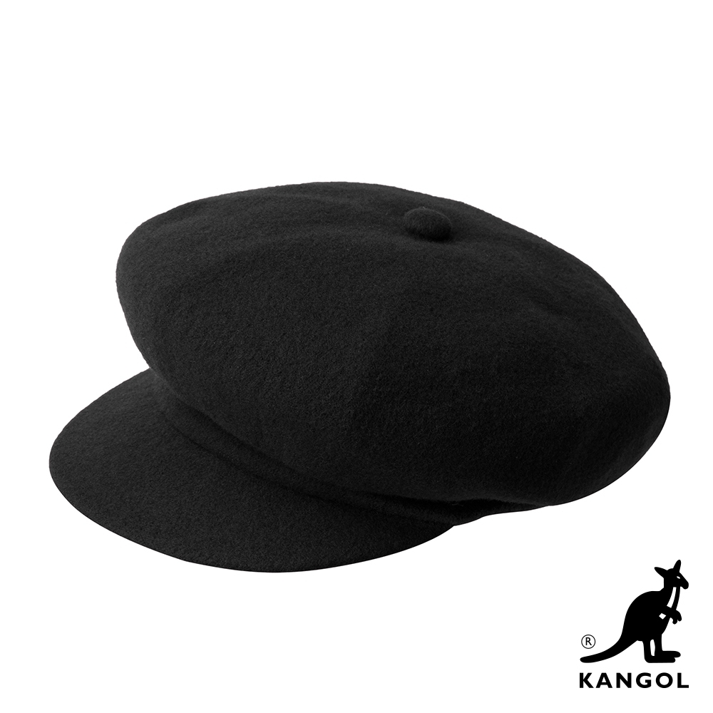 KANGOL-WOOL 報童帽-黑色