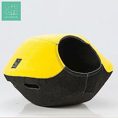Lifeapp 寵愛貓窩-FUN樂雙色版-檸檬黃黑