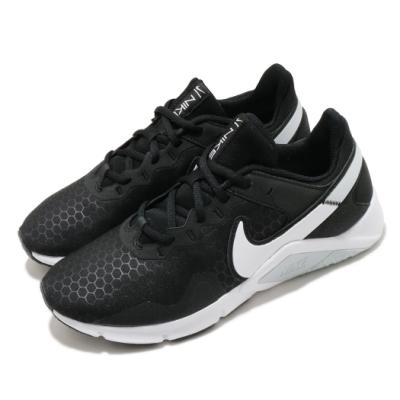 Nike 訓練鞋 Legend Essential 2 女鞋 健身房 避震 穩定 支撐 運動 球鞋 黑 白 CQ9545001