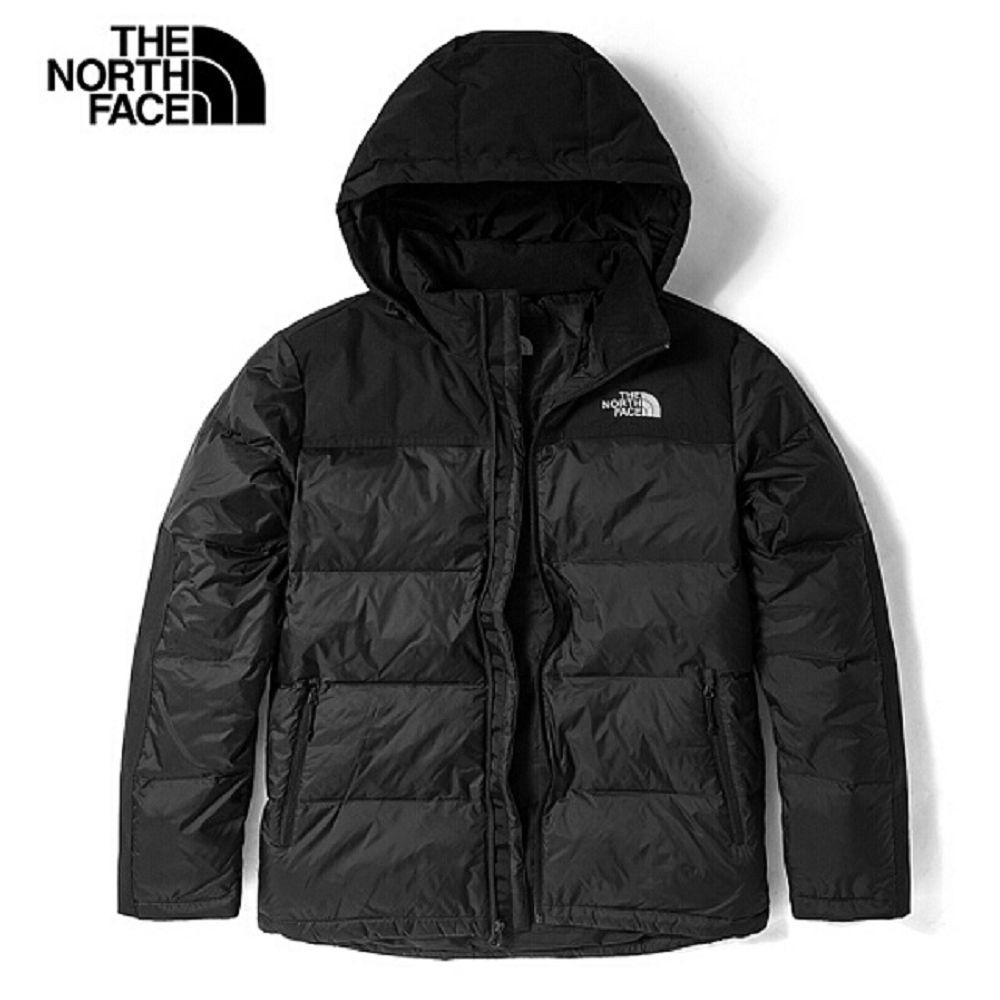 The North Face 男 防潑水保暖羽絨連帽外套-NF0A4U82JK3