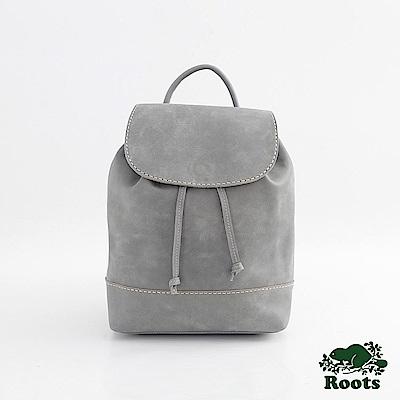 配件Roots-道森抽繩後背包-灰色