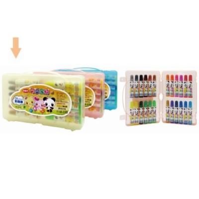 利百代 可愛家族彩色筆-24色 W-002