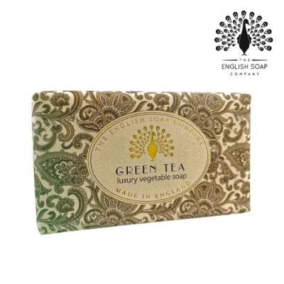 The English Soap Company 乳木果油復古香氛皂-綠茶 Vintage Green Tea 190g