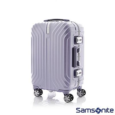 Samsonite新秀麗 20吋Tru-Frame PC時尚硬殼鋁框登機箱(炫銀)