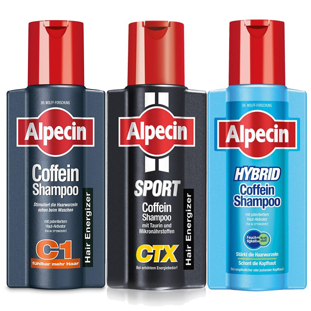 [時時樂限定] Alpecin 咖啡因系列250mlx3 $829