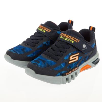 SKECHERS 男童系列  燈鞋 FLEX GLOW-400017LNVOR