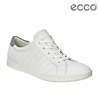 ECCO AIMEE 經典輕巧休閒鞋-女(白+灰)