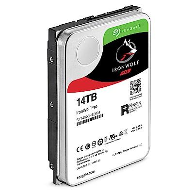 Seagate 那嘶狼【IronWolf Pro】14TB 3.5吋NAS硬碟