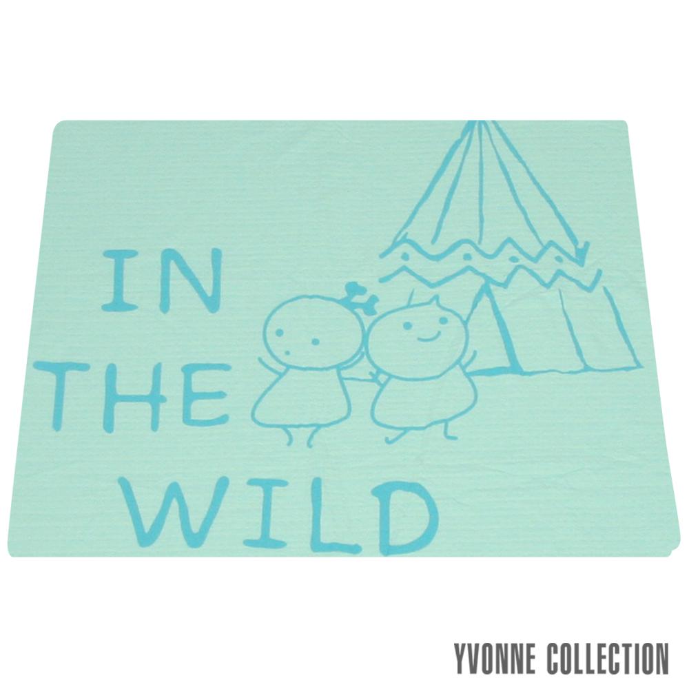 YVONNE COLLECTION 以旺娃娃小薄紗被(4x5呎)-淺藍綠