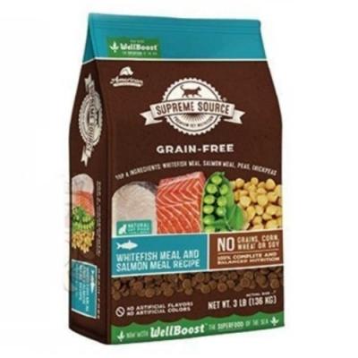 SUPREME SOURCE紐健士-無穀天然貓糧-鮭魚+蔬果6lb/2.26kg-2包組