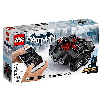 LEGO樂高 超級英雄系列 76112 蝙蝠俠 APP遙控蝙蝠車