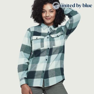 United by Blue 女格紋長袖襯衫 201-058