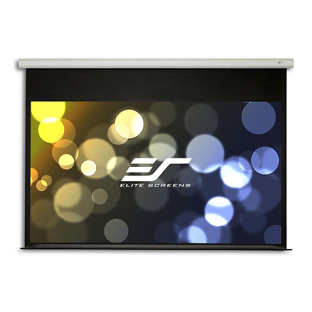 Elite Screens 億立銀幕87吋 1:1 經濟型電動布幕-側掛馬達 ELECTRIC99S