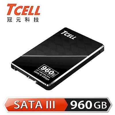 TCELL冠元 TT550 960GB 2.5吋 SATAIII SSD固態硬碟(讀:550M/寫:480M)