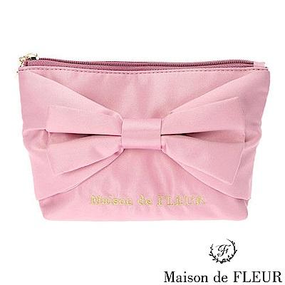 Maison de FLEUR 經典蝴蝶結造型化妝包