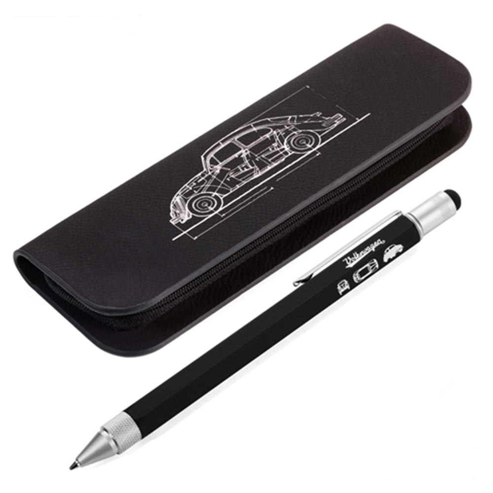 德國TROIKA工程筆工具筆鉛筆盒金龜車鉛筆盒PEC74/BS;PEC75/BS