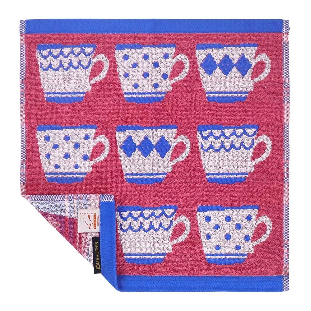日本丸真 葡萄牙製創意北歐洗臉巾-馬克杯