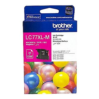 BROTHER LC77XL M 原廠超高容量紅色墨水匣
