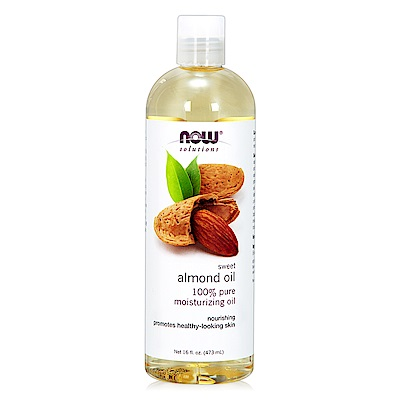 NOW Sweet Almond Oil甜杏仁油(16 oz / 473 ml)