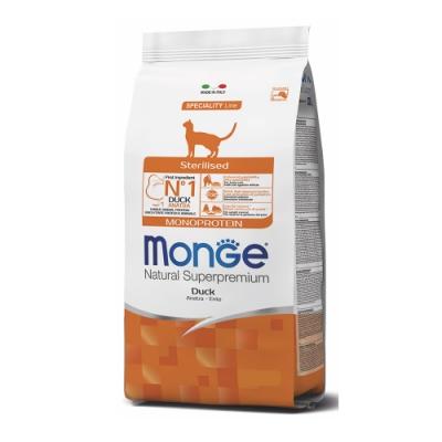 Monge瑪恩吉 天然全能 結紮貓糧(鴨肉)1.5kg