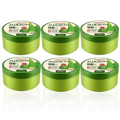 *Organia歐格妮亞 蘆薈98%舒緩保濕凝膠300gx6入