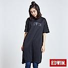 東京系列3M反光印花長版短袖T恤-女-黑色