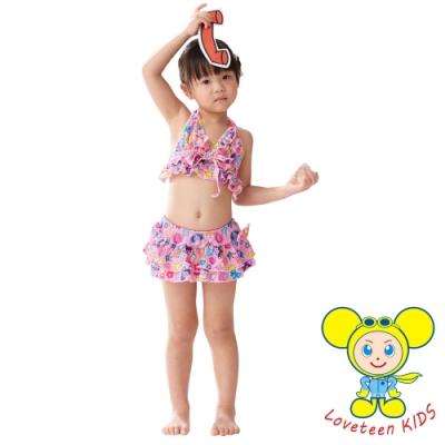夏之戀 LOVETEEN KIDS女童比基尼二件式泳衣