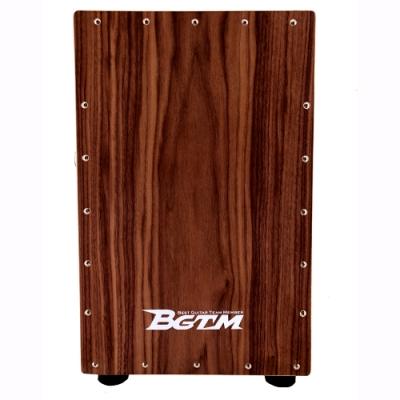 BGTM 嚴選BC-130HIC-S木箱鼓~頂級胡桃木打擊面板/具備可調式響弦(附背套)