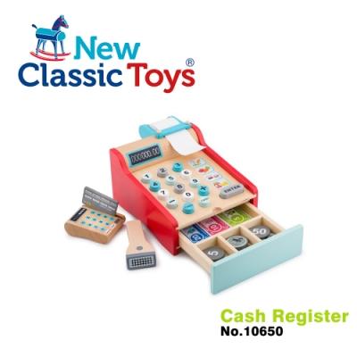 【荷蘭New Classic Toys】木製收銀機玩具 - 10650