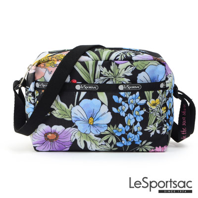 LeSportsac - Standard側背隨身包(盛夏/黑)