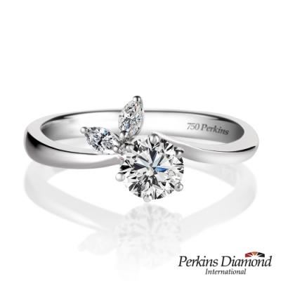 PERKINS 伯金仕-GIA Glory系列 D/VS1 0.30克拉鑽石戒指