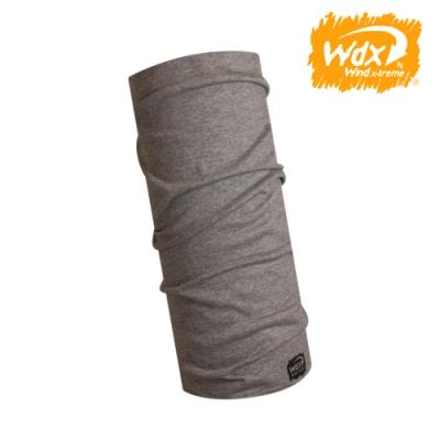 【Wind x-treme】美麗諾羊毛保暖多功能頭巾 5016 灰(透氣、圍領巾、西班牙)